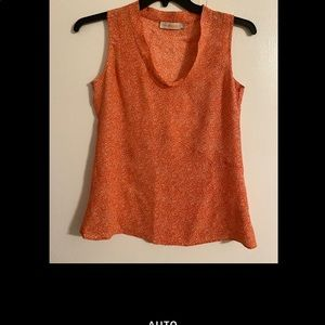 Tory Burch NWOT sleeveless top. Size 2